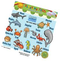 Ocean Creatures and Their Names Felt Toy Set