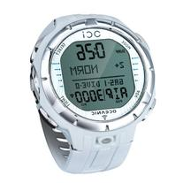 Oceanic OCi Wireless Dive Watch Computer White