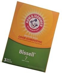 Arm & Hammer Odor Eliminating Vacuum Bags, Bissell 7 Bag, 3