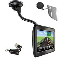 ChargerCity OEM Gooseneck Windshield Suction Cup Mount for