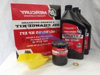 Mercury OEM Oil Change & Filter Kit 40-50-60hp Four Stroke