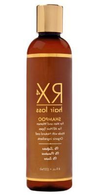 Rx 4 Hair Loss Unisex Organic Anti-hair Loss Shampoo with