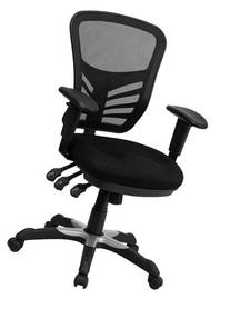 Offex HL-0001-GG Mid-Back Chair with Triple Paddle Control,