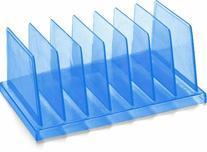 OfficemateOIC Blue Glacier Standard Sorter, 7 Compartments,