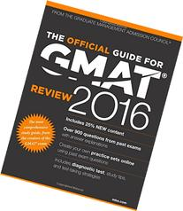 The Official Guide for GMAT Review 2016 with Online Question