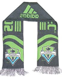 MLS Officially Licensed 2 Sided Fringed Scarf