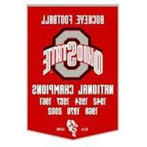 NCAA Ohio State Buckeyes Wool Dynasty Banner