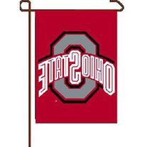 """NCAA Ohio State Buckeyes Garden Flag, 11""""x15"""", Team Color"""