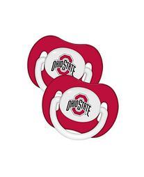 Ohio State Buckeyes OSU NCAA Baby Pacifier - 2 Pack