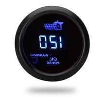 Digital Oil Pressure Meter Gauge with Sensor for Auto Car