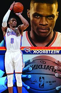 Poster - Oklahoma City Thunder - R Westbrook 15 New Wall Art