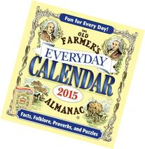 The Old Farmer's Almanac 2015 Everyday Calendar