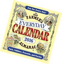 The Old Farmer's Almanac 2016 Everyday Calendar