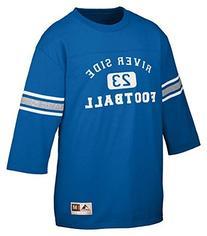 Augusta Sportswear Old School Football Jersey, 2XL, Royal/