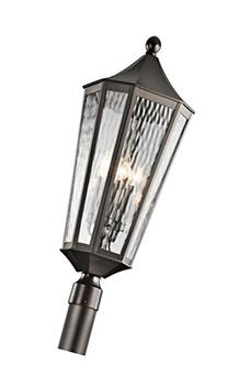 Olde Bronze Rochdale 4-Bulb Post Light