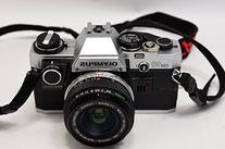 Olympus OM-10 OM10 35mm Manual Focus Film Camera And Lens