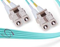 OM4 LC-LC 40/100G 50/125 Multimode DX Fiber Cable - 100