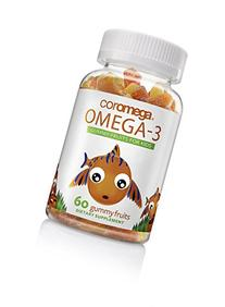 Coromega Kids Omega-3 Fish Oil Gummy Fruits, High DHA for