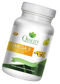 Omega 3 Fish Oil - Triple Strength - 1,500 Mg Omega 3 Fatty