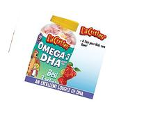 Lil Critters Omega-3 Gummy Fish Brain Booster Promotes