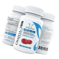 Vitavana Krill Oil Omega 3 Supplement :: #1 Triple-Strength