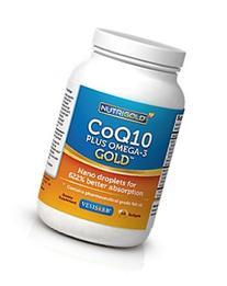 Omega-3 + CoQ10 + Vitamin D3 GOLD - 700 mg of Omega-3 Fish