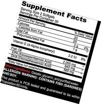 Advanta Supplements Omega3 Fish Oil, 60 Softgels
