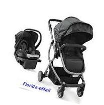 Urbini Omni 3-in-1 Travel System, Convertible Pram Stroller