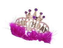 One Rhode Island Novelty Birthday Marabou Princess Pink