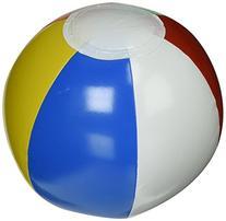 "One Dozen ~~ 6"" Rainbow Colored Beach Balls"