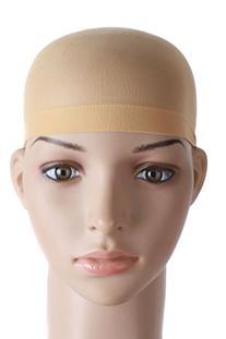 MapofBeauty 2 Pieces One Size Nylon Wig Cap