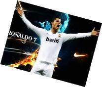 One Quarter Sheet Real Madrid Cristano Ronaldo Edible Image