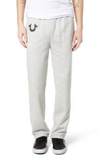 Men's True Religion Brand Jeans Open Leg Sweatpants, Size XX