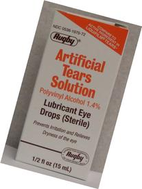 RUGBY LABORATORIES Artificial Tears Ophthalmic Solution, 0.5