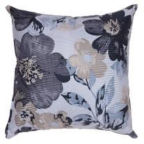 Cortesi Home Oppy Decorative Square Accent Pillow, Blue