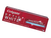Colgate Optic White Toothpaste, Enamel White, 3.5 Ounce