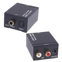 L.Power New Digital Optical Coaxial Toslink Signal to Analog