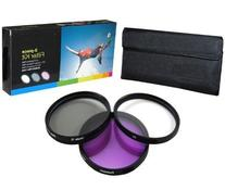 PLR Optics 52MM High Resolution 3-piece Filter Set  For The
