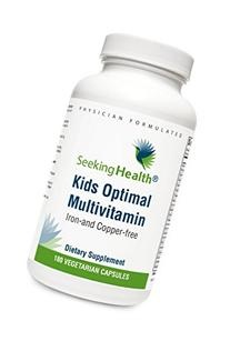 Seeking Health | Kid's Optimal Multivitamin | Kid's Daily