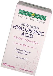 Optimal Solutions, Advanced Hyaluronic Acid, 45 Capsules -