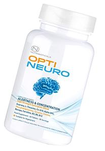 #1 FORMULA Optineuro® for Increased Focus, Concentration +