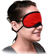 OptiSex Satin Luxe Double Strap Blindfold Eye Mask, Romantic