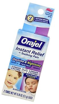 Orajel Daytime/Nightime Oral Pain Reliever Twin Pack