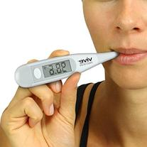 Oral Thermometer by Vive Precision - Underarm, Rectal &