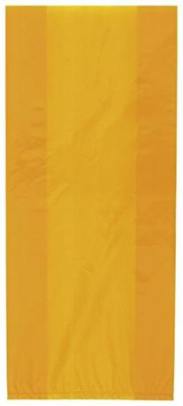 Cellophane Bags, Orange, 30 Count