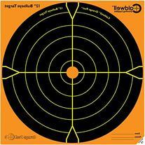Caldwell Orange Peel 12 Inch Splatter Targets 10 Pack