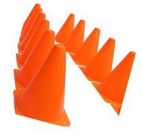 Dazzling Toys Pack of 6 7 Inch Orange Plastic Traffic Cones