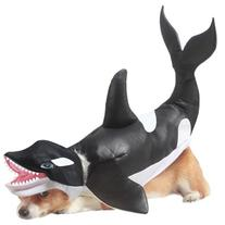 Animal Planet Orca Dog Costume, Large, Black/White