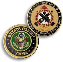 Ordnance Corps Aberdeen Proving Ground Challenge Coin
