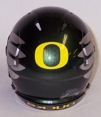 Oregon Ducks Titanium Thunder Green with Matte Finish Silver